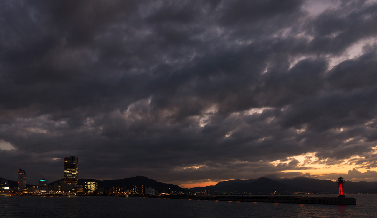 Last Ferry of the Day to Megijima